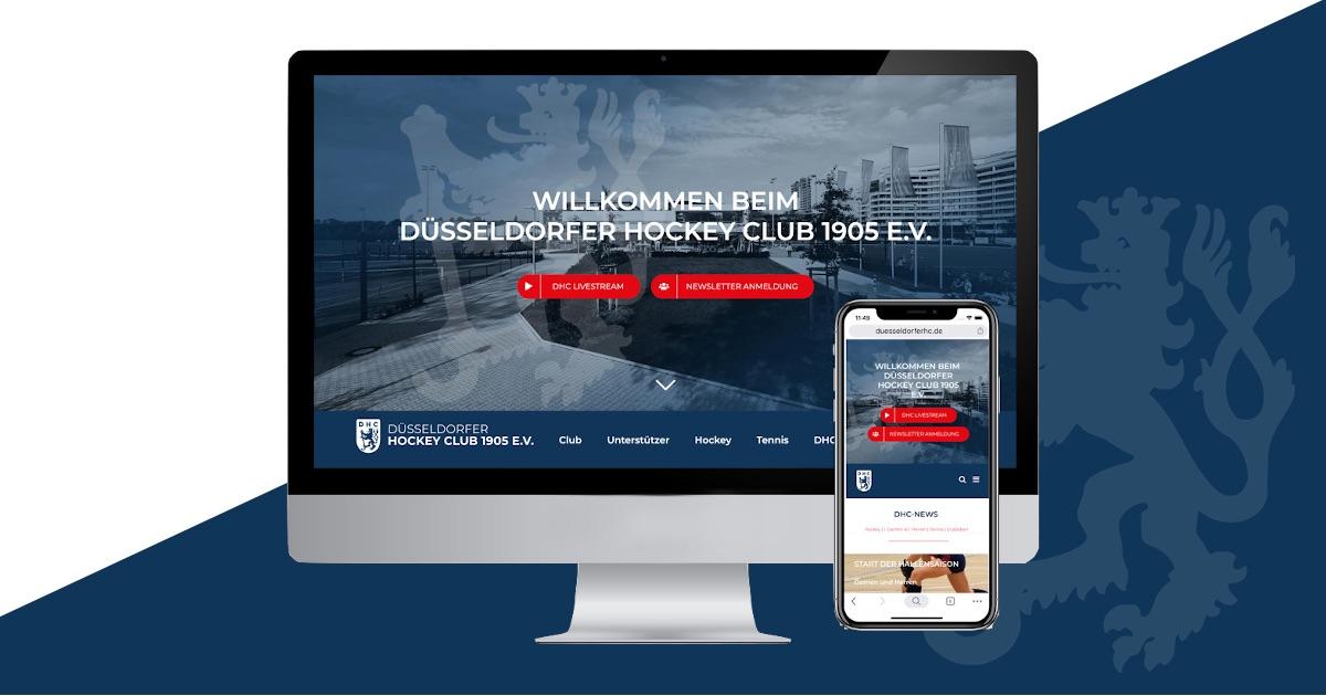 DHC Newsletter und Homepage im neuen Gewand