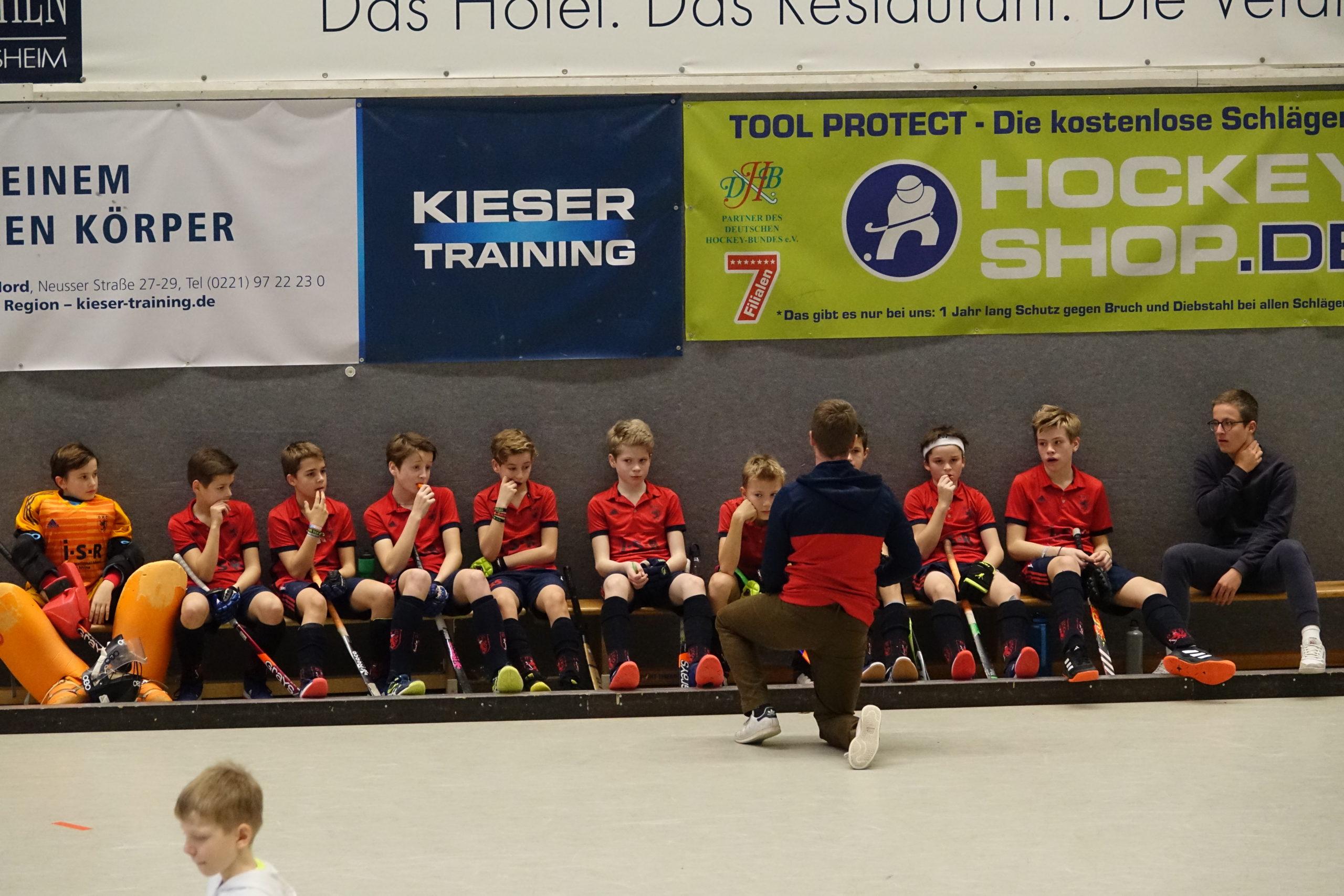 Knaben B1 erreichen Westdeutsche Endrunde