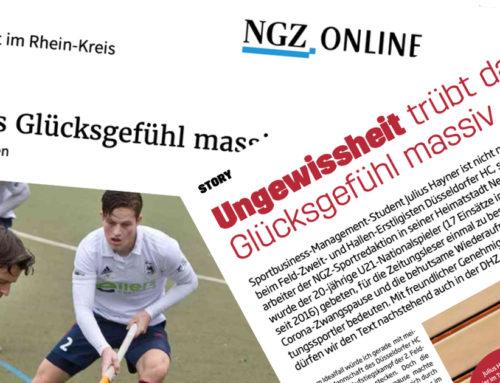 """""""Wie U21-Nationalspieler Julius Hayner mit der Coronakrise lebt"""""""