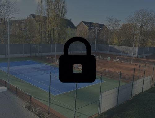 Schliessung der Tennisplätze (Update vom 15.12.)