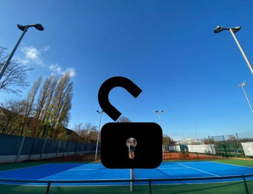 Lockdown-Lockerung: Tennis draußen erlaubt