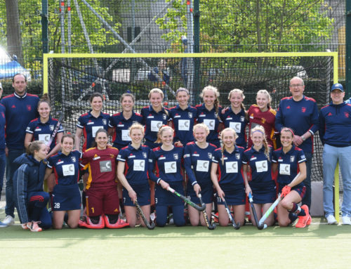 Geschafft: Unsere 1. Damen beim Final Four in Mannheim